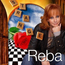 The official single cover for 'Strange' by Reba.