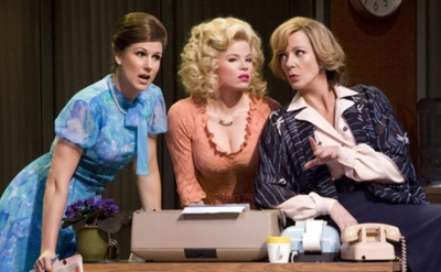 Allison Janney, Stephanie J. Block and Megan Hilty