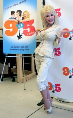 Dolly promoting 9 to 5.