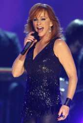 Reba performing at the 2009 ACM Awards in Las Vegas.