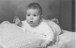 Lisa as baby