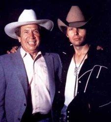 Buck Owens with Dwight Yoakam